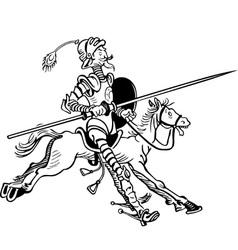 Don Quixote vector image vector image