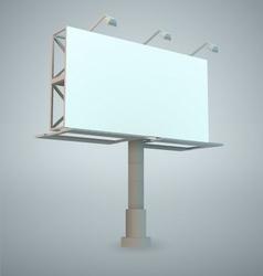 outdoor billboards vector image