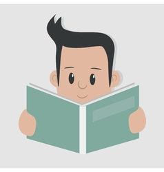 Reading - vector image