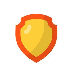 Shield flat icon vector