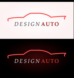 car logo company vector image vector image