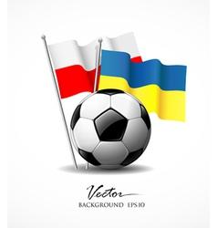 European Football 2012 vector image vector image