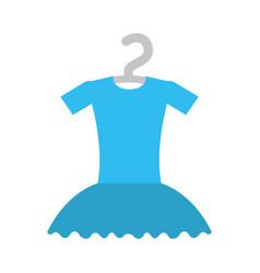 tutu ballet on the hanger costume vector image