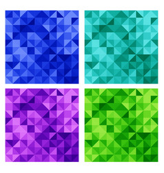 a set abstract backgrounds for web vector image