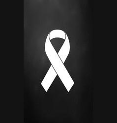 Awareness ribbon vector