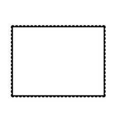 Blank postage stamp blank postage stamps vector