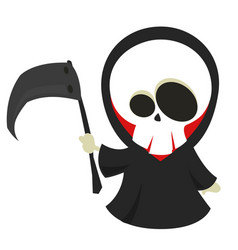 Cartoon of halloween death vector