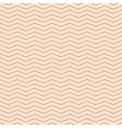 Chevron zigzag cream and beige seamless pattern vector image