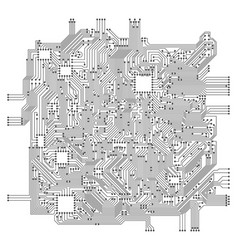 Circuit board electronic computer hardware vector