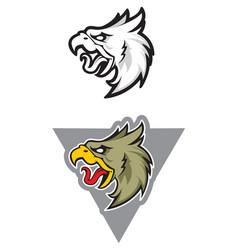 eagle sport mascot vector image