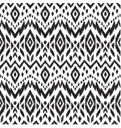 ethnic print for fashion fabric vector image