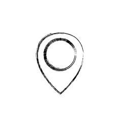 Figure location symbol to destination travel vector