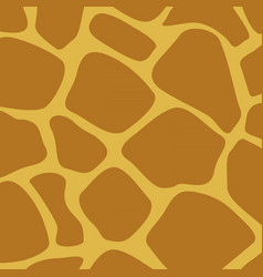 giraffe skin animal texture wallpaper vector image