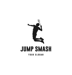 jump smash vector image
