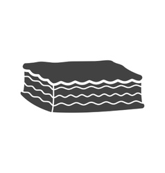 Lasagna vector image