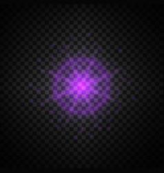 purple glowing light glitter vector image