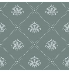 Vintage pattern seamless baroque style vector image