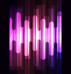 violet melt overlap abstract square background vector image