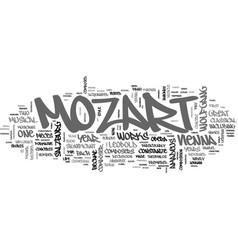 Wolfgang amadeus mozart mozart year text word vector