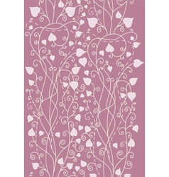 Retro background for valentine day card vector image vector image