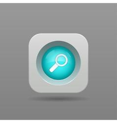 Search button vector image vector image