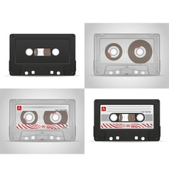 Audio cassette 05 vector