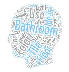 Bathroom Tile Ideas For Bathroom Floor Tile text vector
