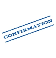 Confirmation Watermark Stamp vector