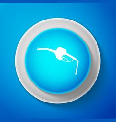 gasoline pump nozzle fuel pump petrol station vector image
