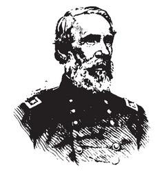 General edwin v sumner vintage vector