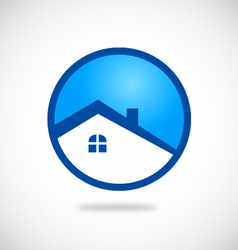 house icon logo vector image