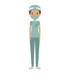 Medical doctor woman vector