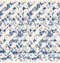 Tie dye triangle geometric seamless pattern vector
