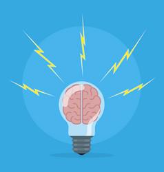 brain storm concept vector image