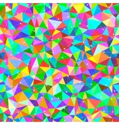 Bright Triangles vector image