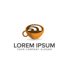 Coffee wireless logo food and drink logo design vector