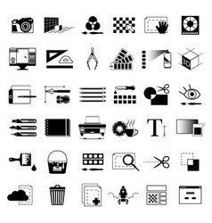 Creative tools for graphic artists or web vector