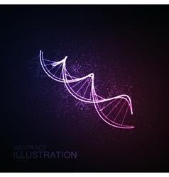 DNA icon vector