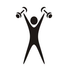 Exercising figure vector