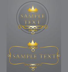 Fancy design elements vector