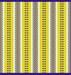 Folklore geometric seamless pattern pixel art vector
