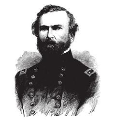 general george h thomas vintage vector image