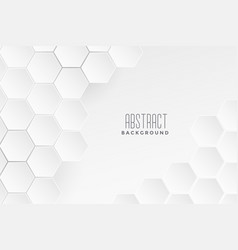 Geometric medical concept white background vector