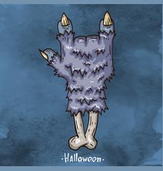 Happy halloween cartoon vector