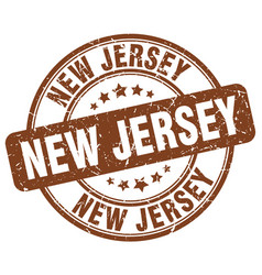 New jersey stamp vector