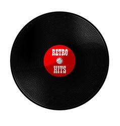 Retro hits vector