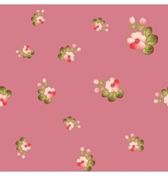 Trendy Seamless Flower Pattern vector image