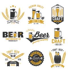 Vintage design for bar pub and restaurant vector