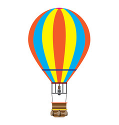 Colorful balloon picture vector