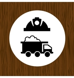 mining industry design vector image